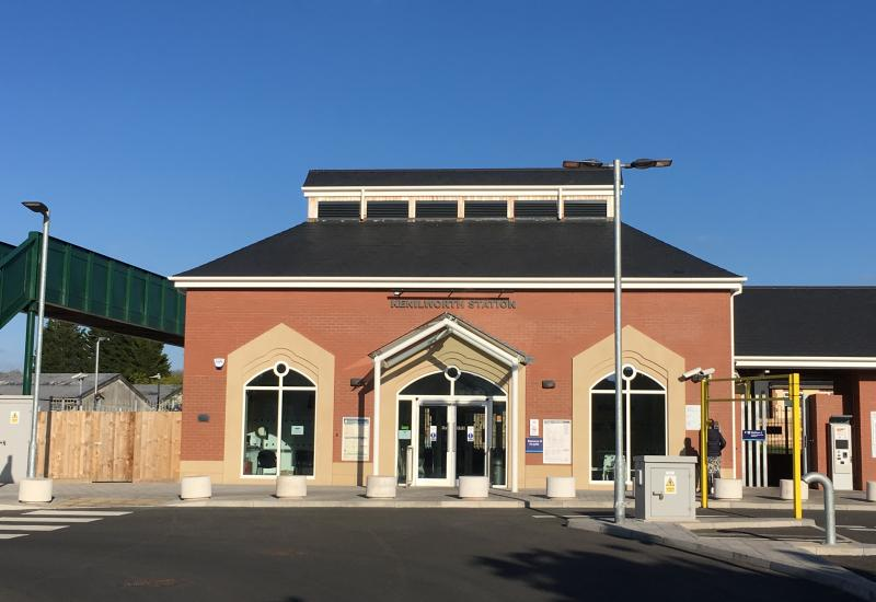 Kenilworth Station links to the mainline rail network