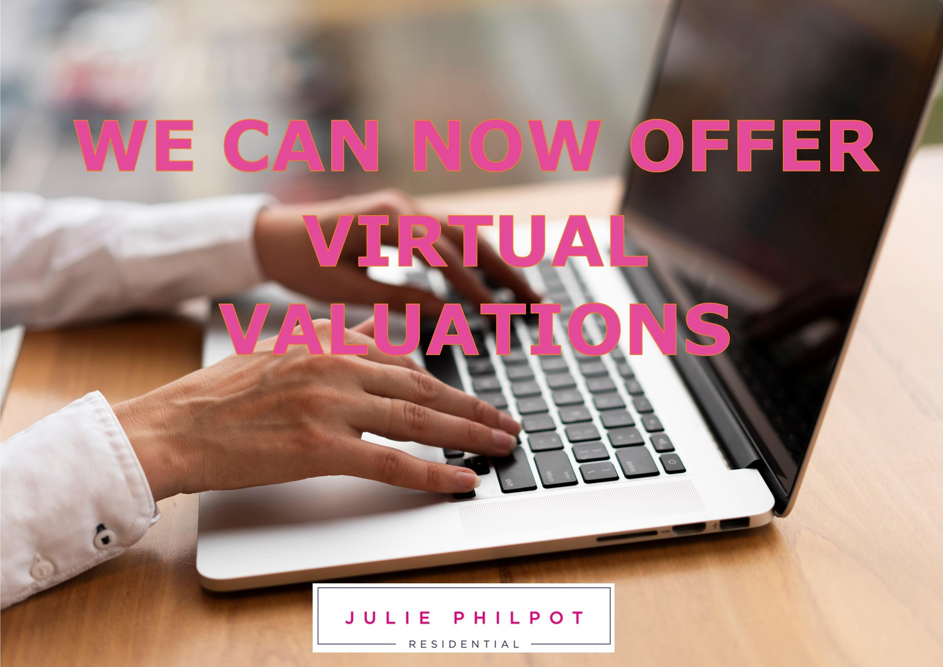 "Introducing our new expert ""Virtual"" Market Appraisal"